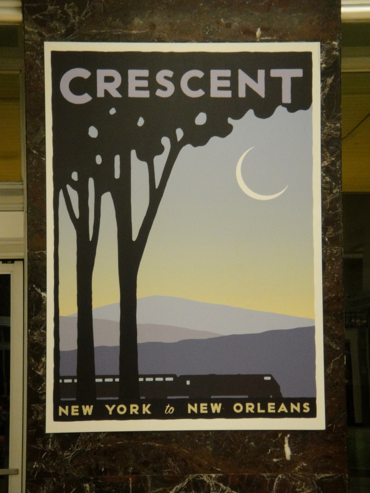 Amtrak Crescent Route – New York to NewOrleans