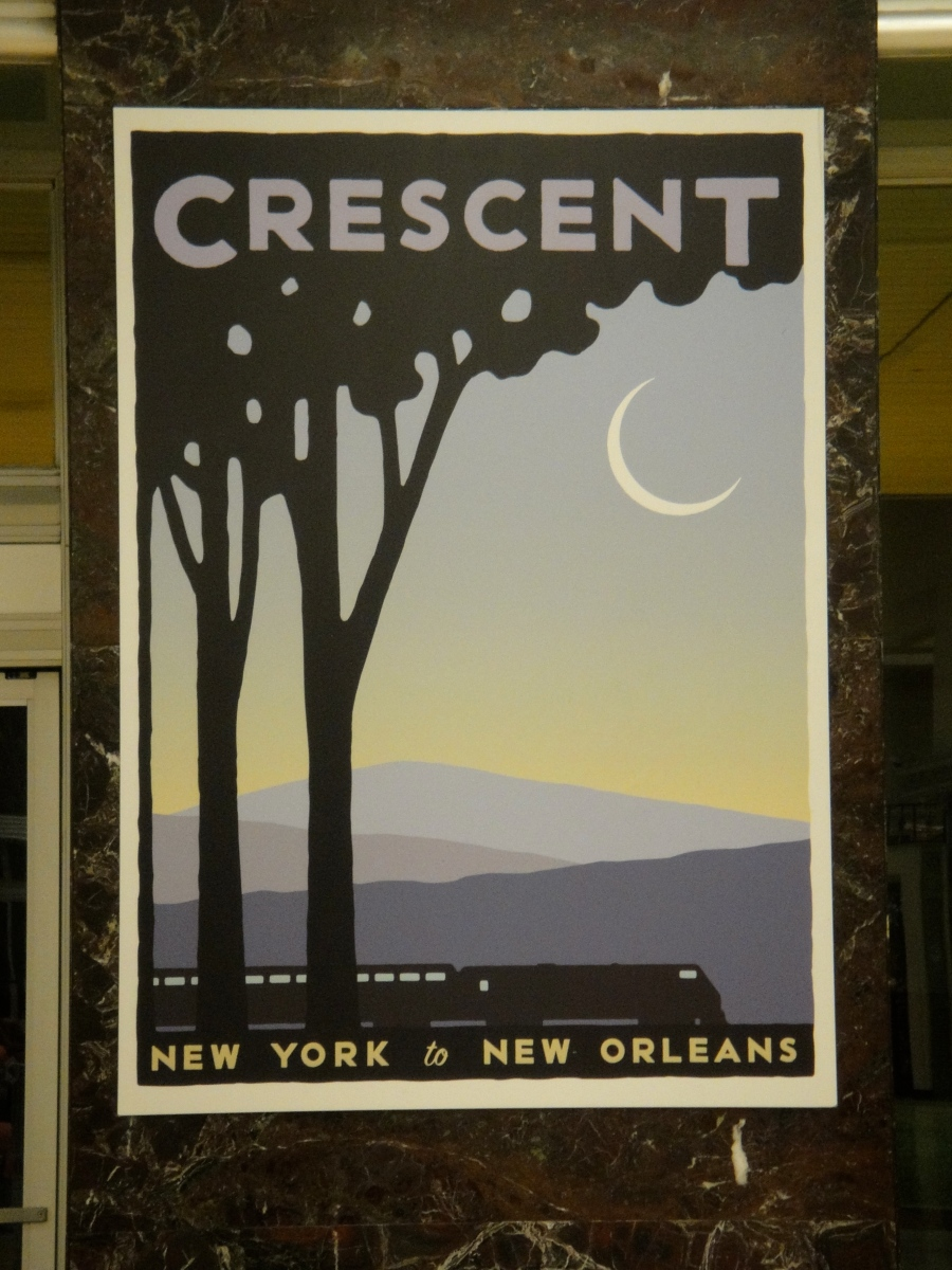 Amtrak Crescent Route New York To New Orleans The